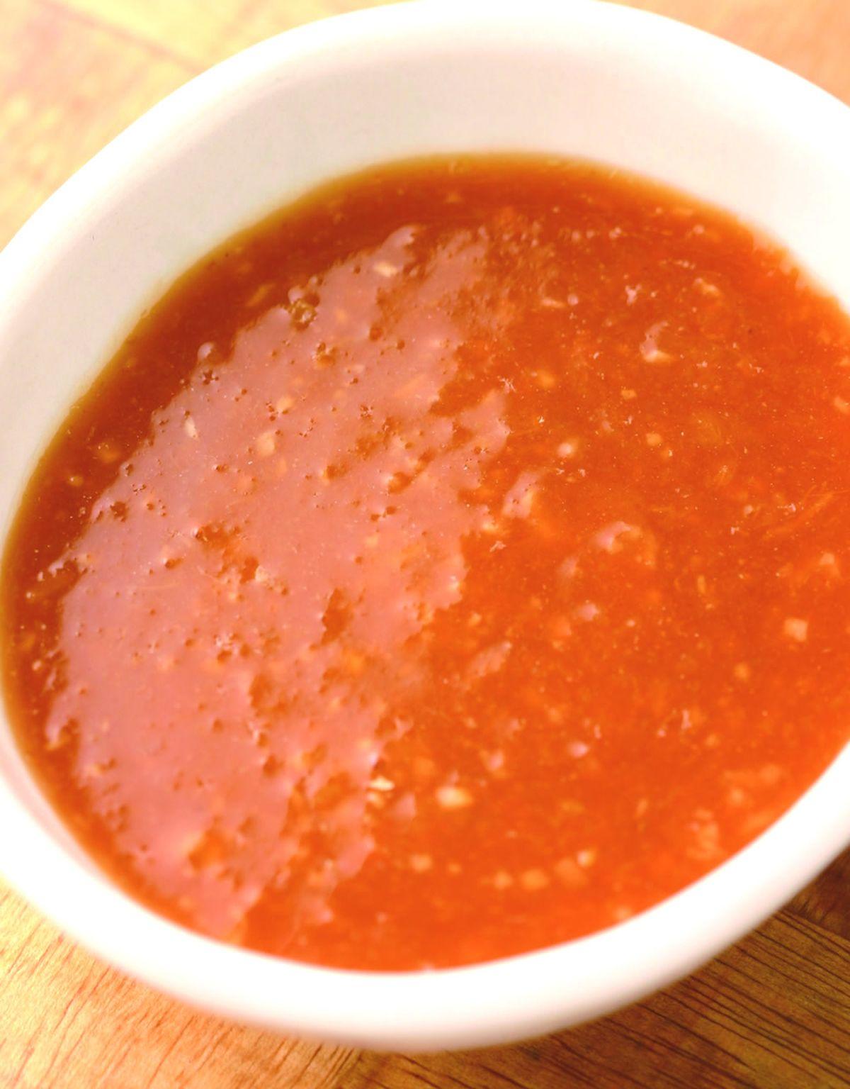 食譜:桔汁辣拌醬