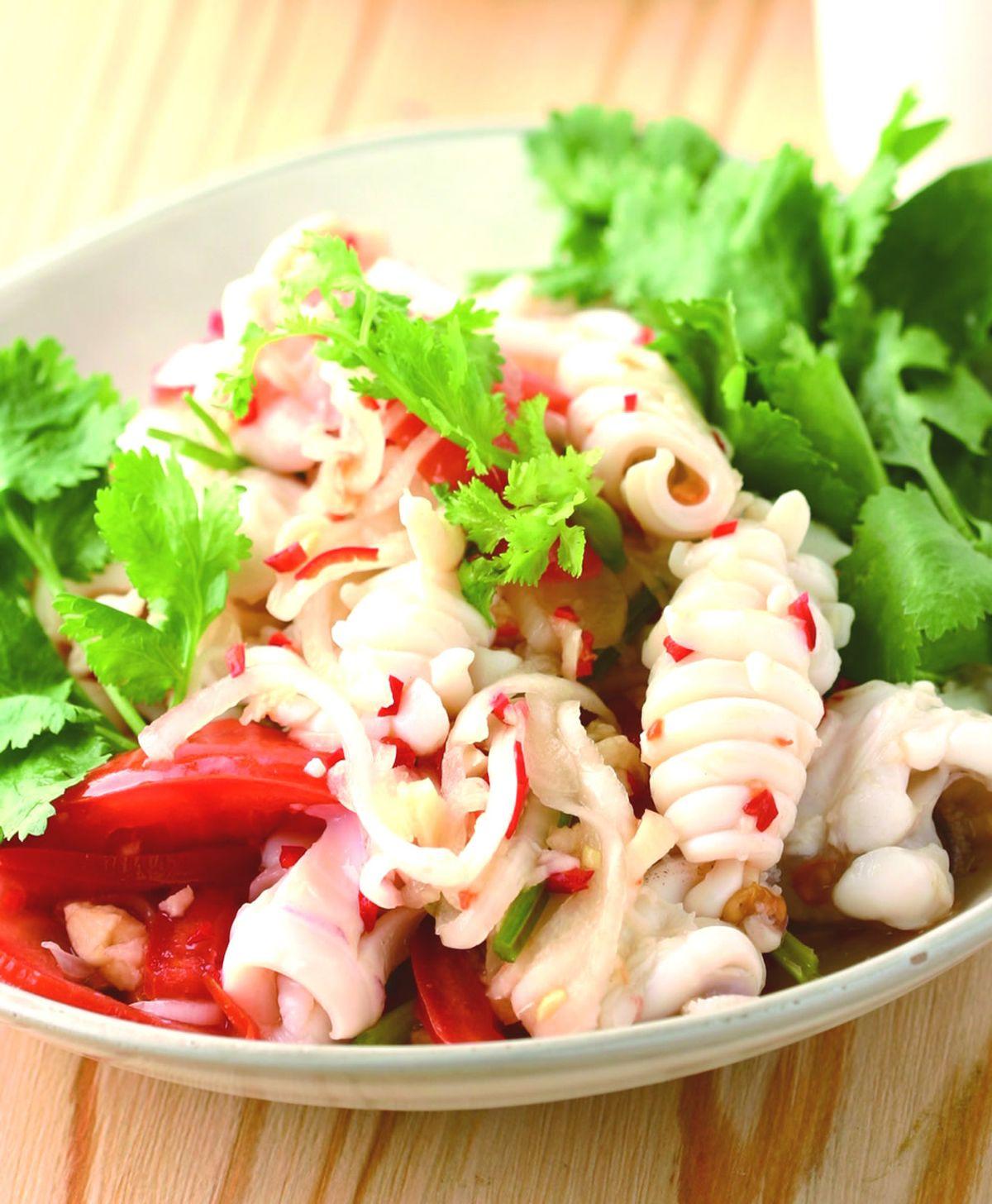 食譜:酸辣魷魚(1)