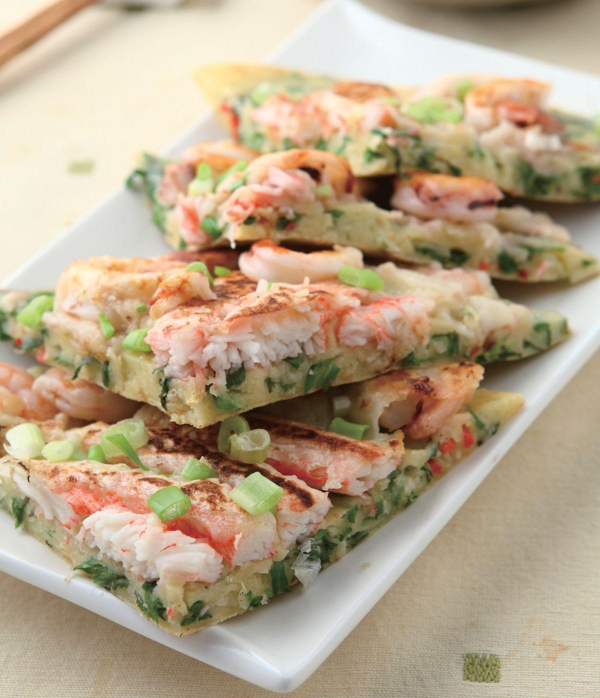 食譜:韓式海鮮煎餅(2)