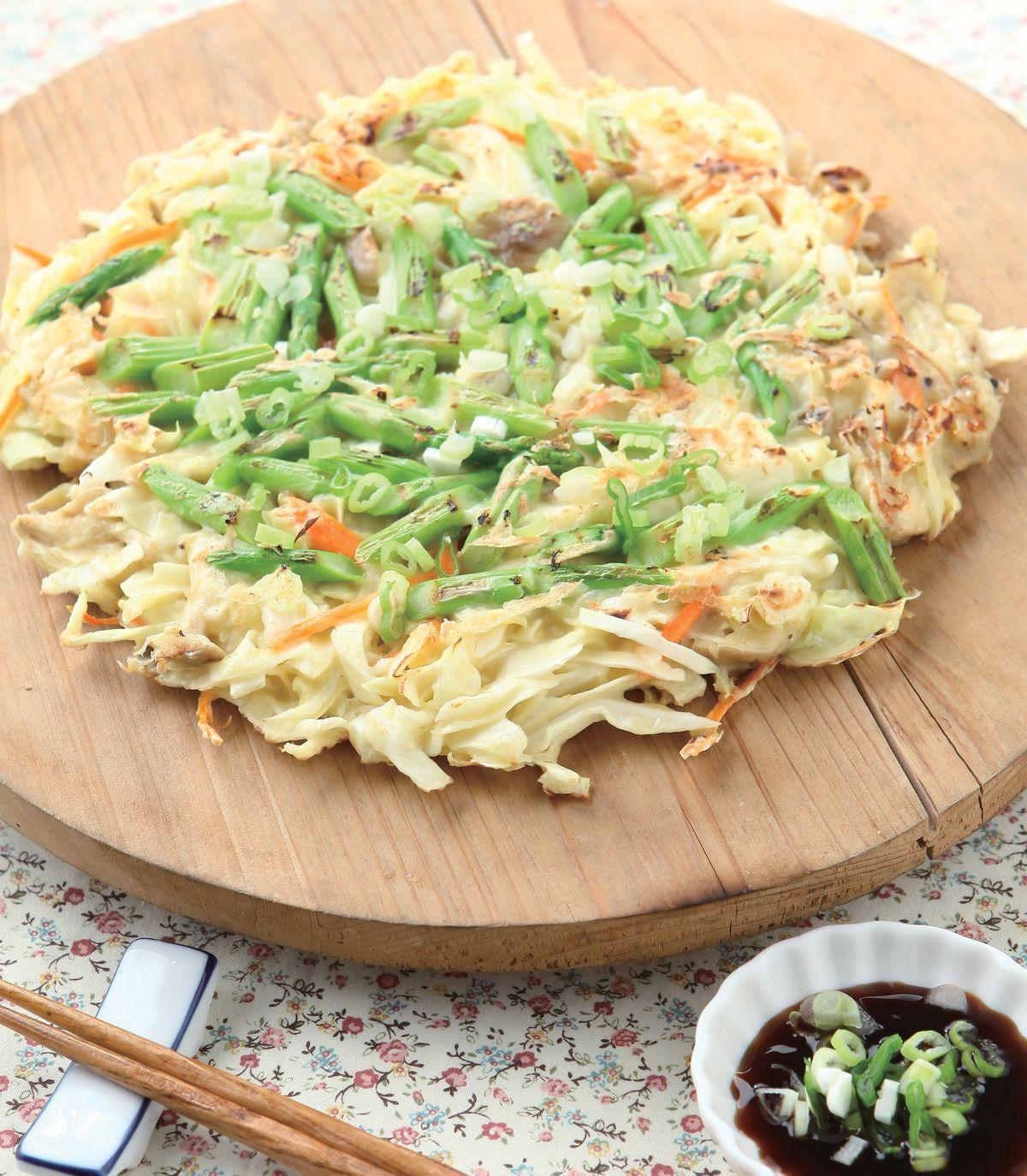 食譜:什錦蔬菜煎餅(2)