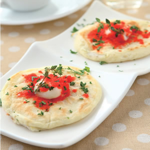 法式蝦卵煎餅