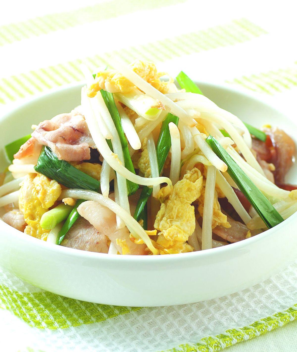 食譜:銀芽木耳炒肉片