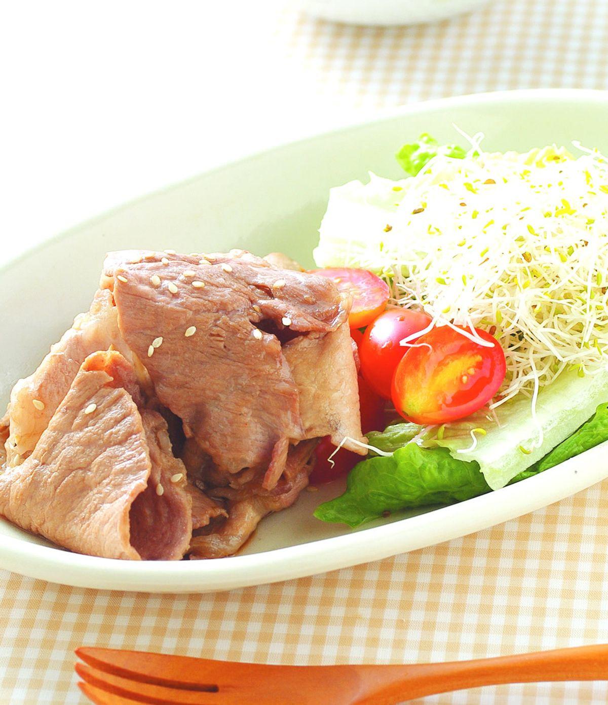 食譜:燒肉生菜沙拉