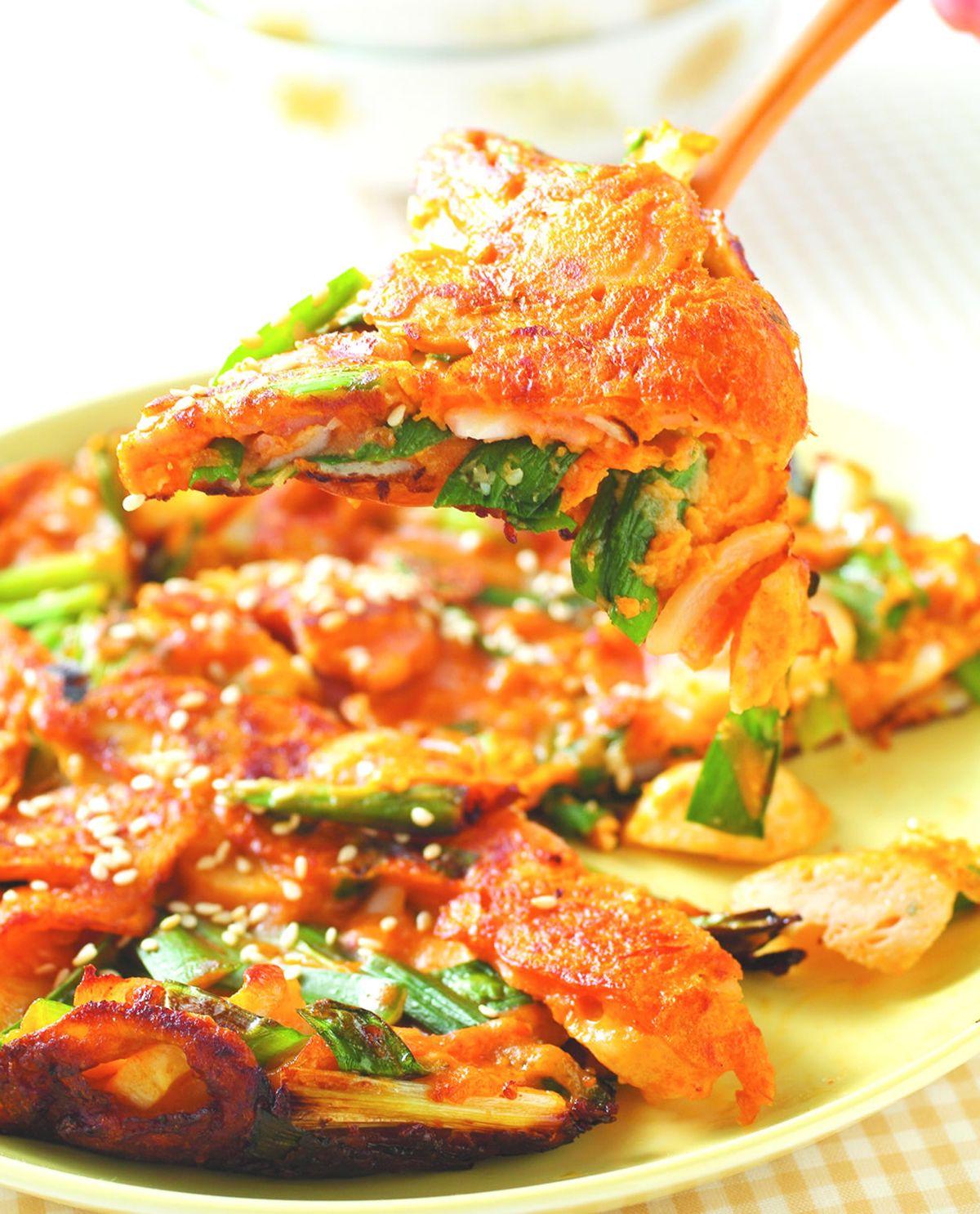 食譜:海鮮煎餅(2)