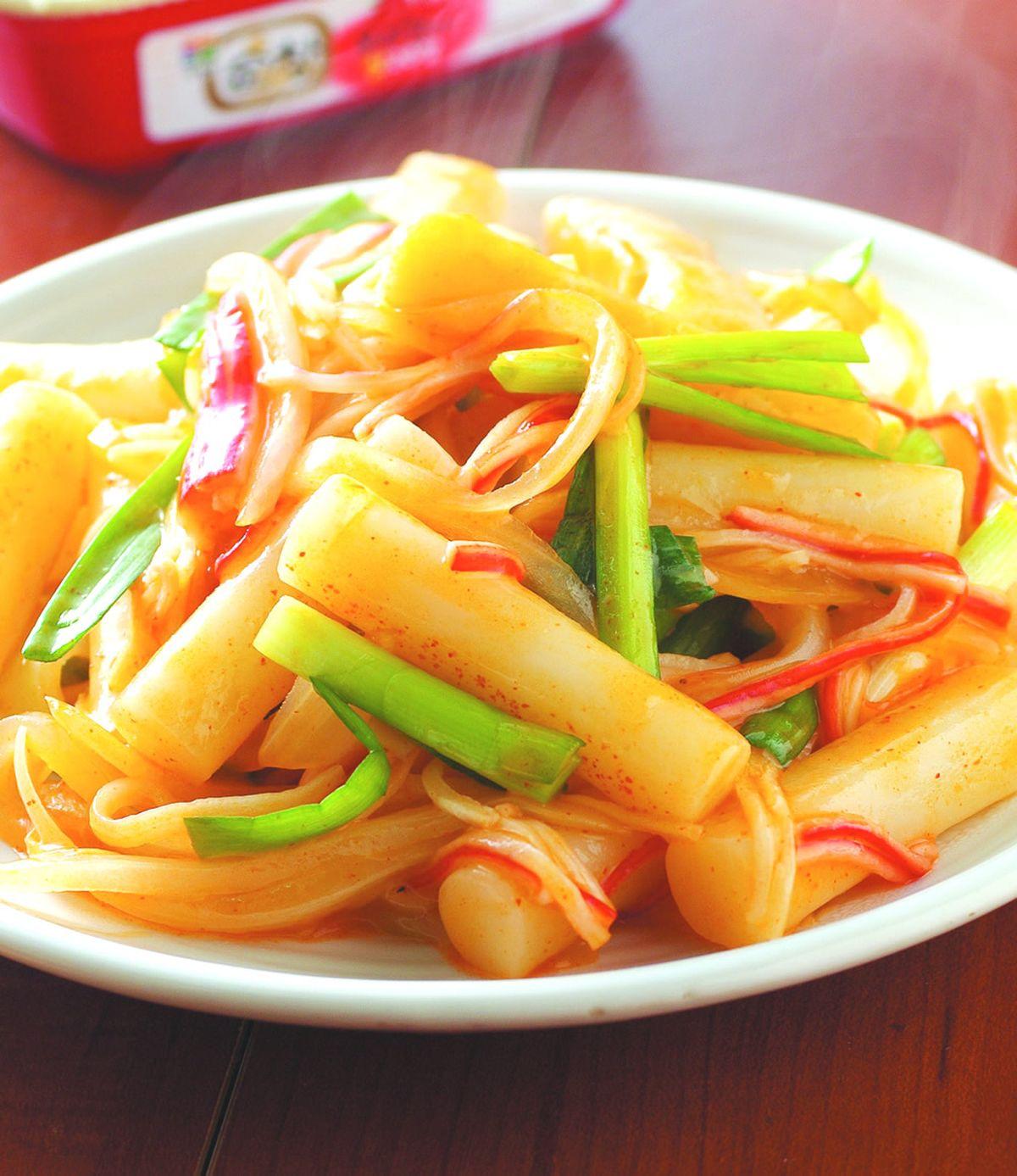 食譜:辣炒韓式年糕