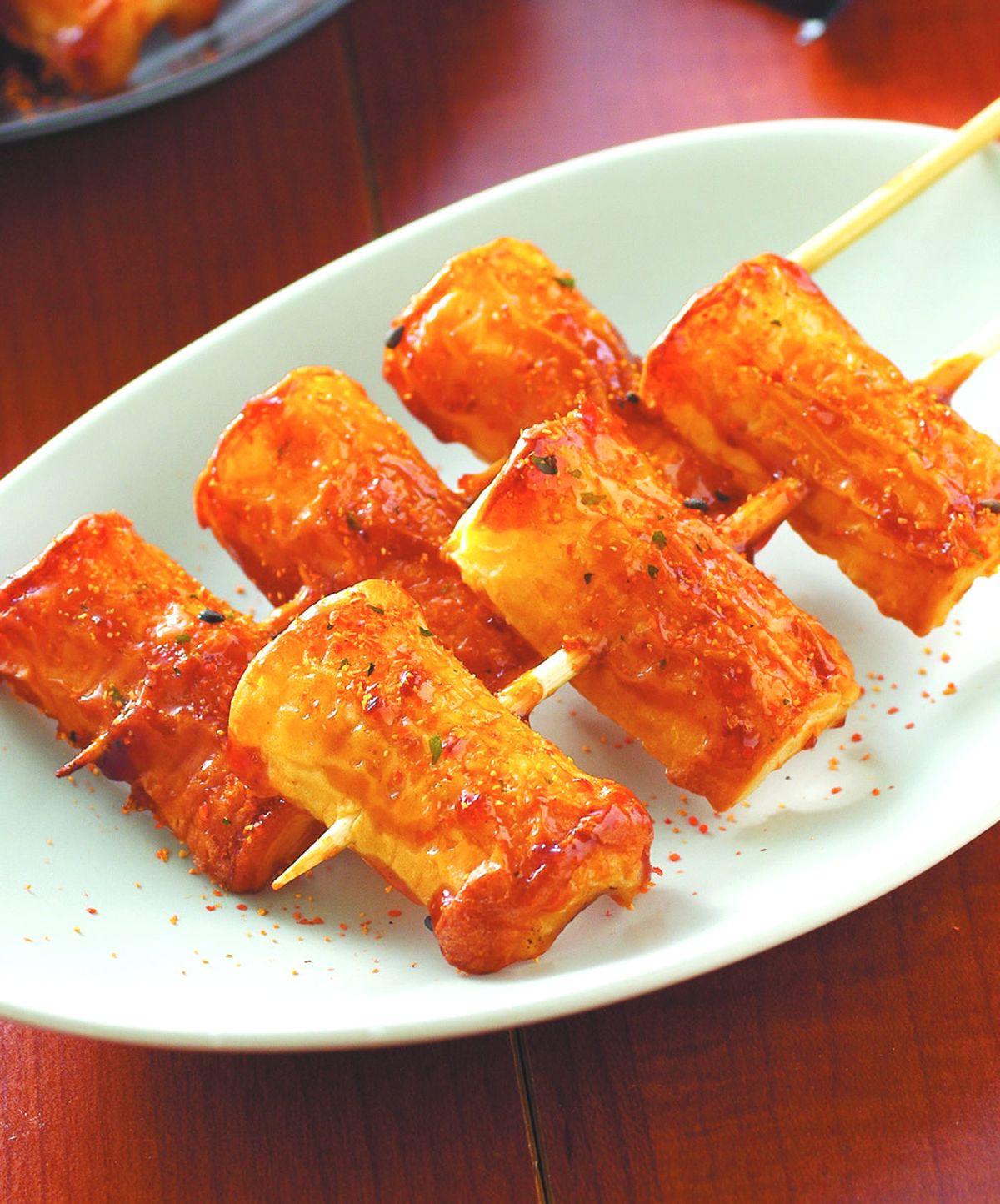 食譜:蜜汁烤竹輪