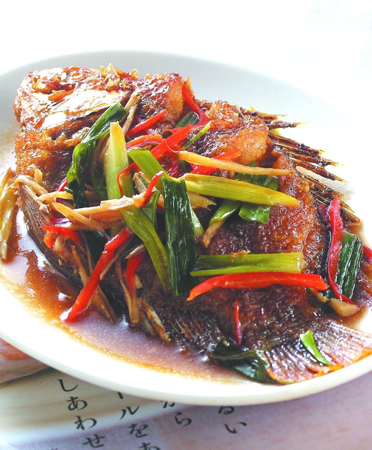 食譜:紅燒魚(5)