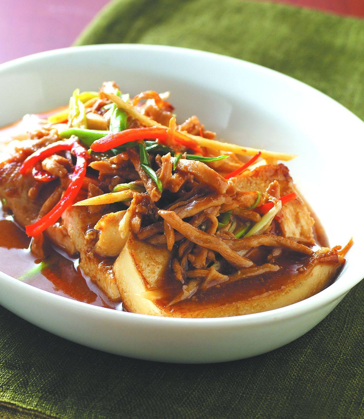 食譜:紅燒家常豆腐