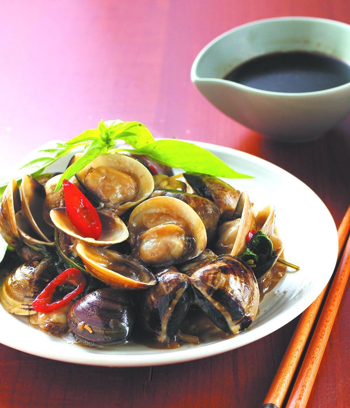 食譜:塔香蛤蠣