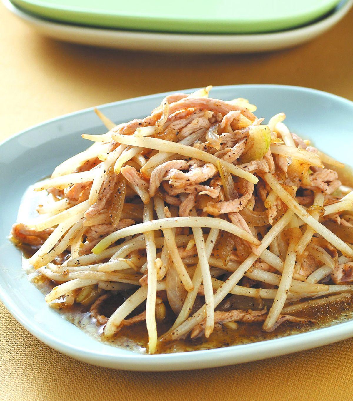 食譜:黑椒炒三鮮