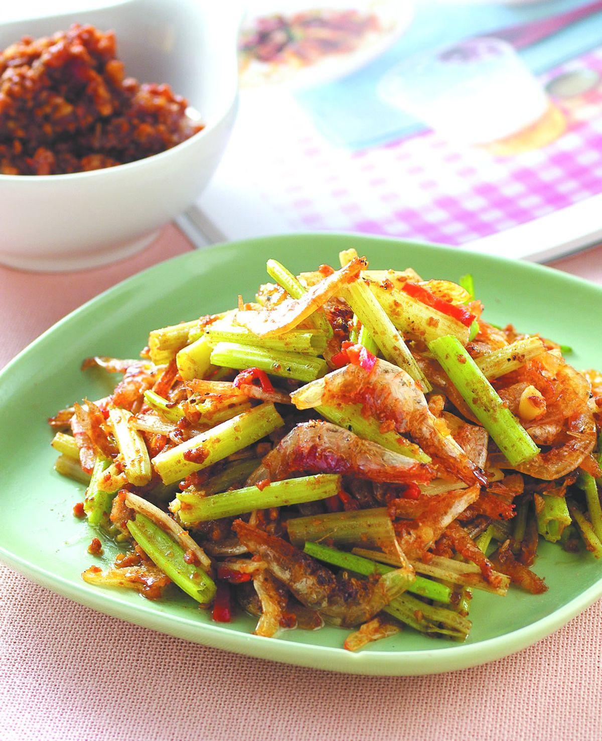 食譜:香芹蝦酥
