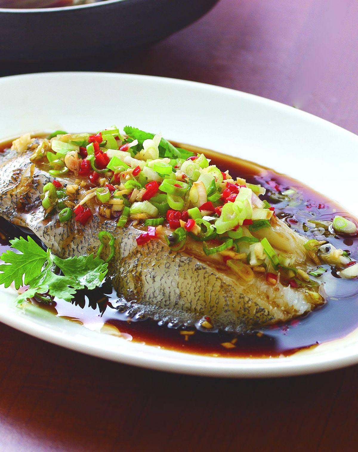 食譜:清蒸鱈魚(5)