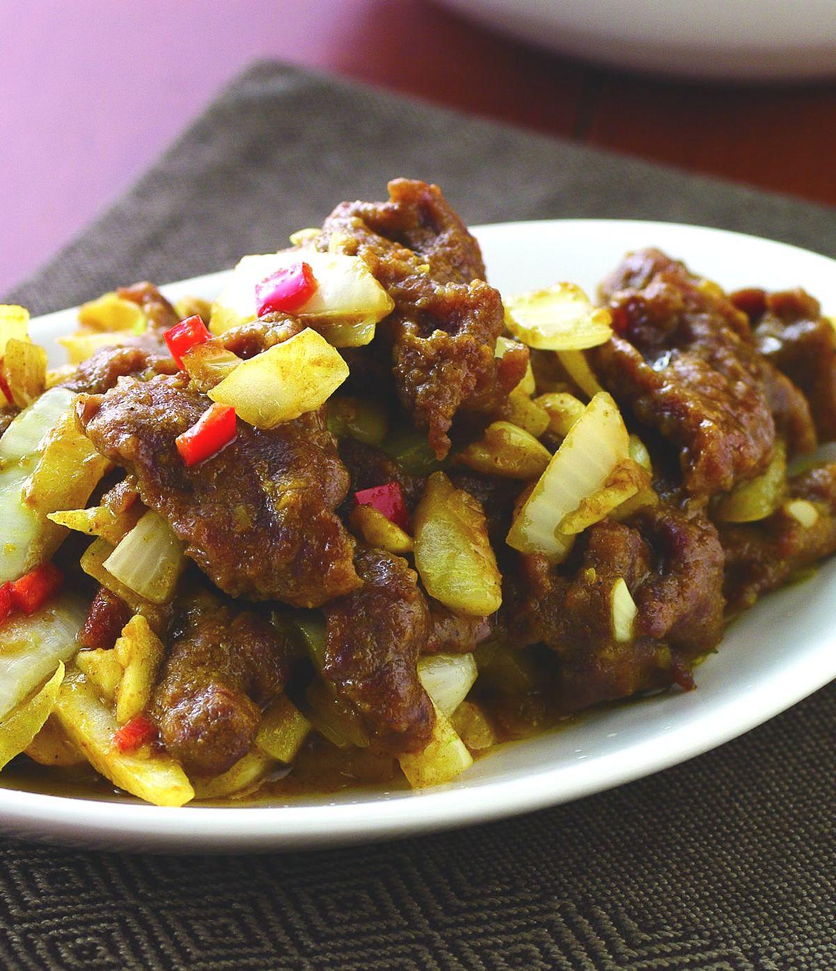 食譜:咖哩炒牛肉(1)