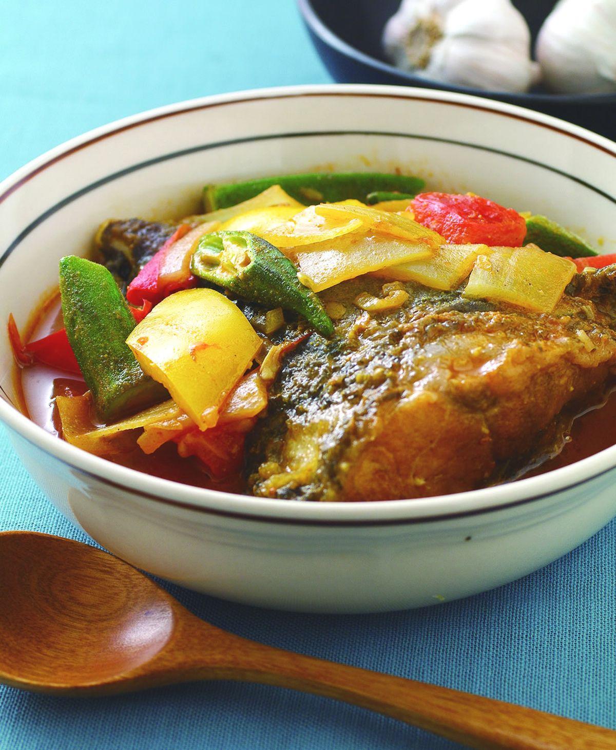 食譜:咖哩魚頭(2)