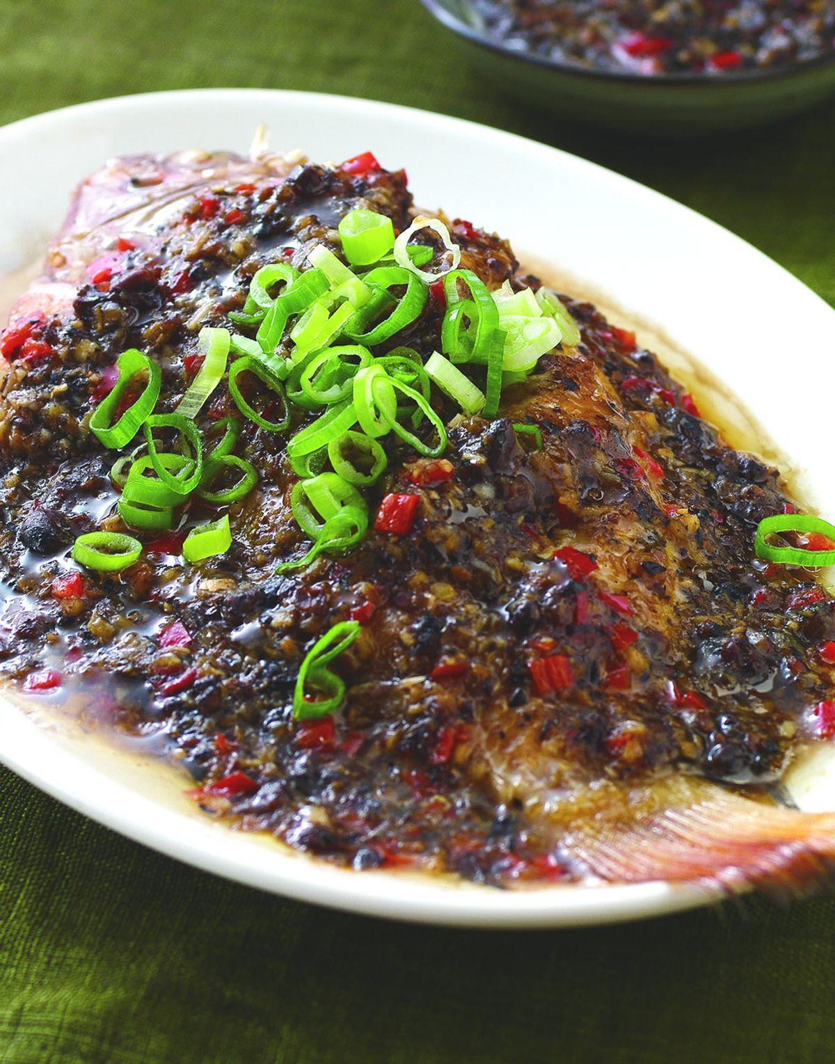 食譜:豆豉蒸魚(1)