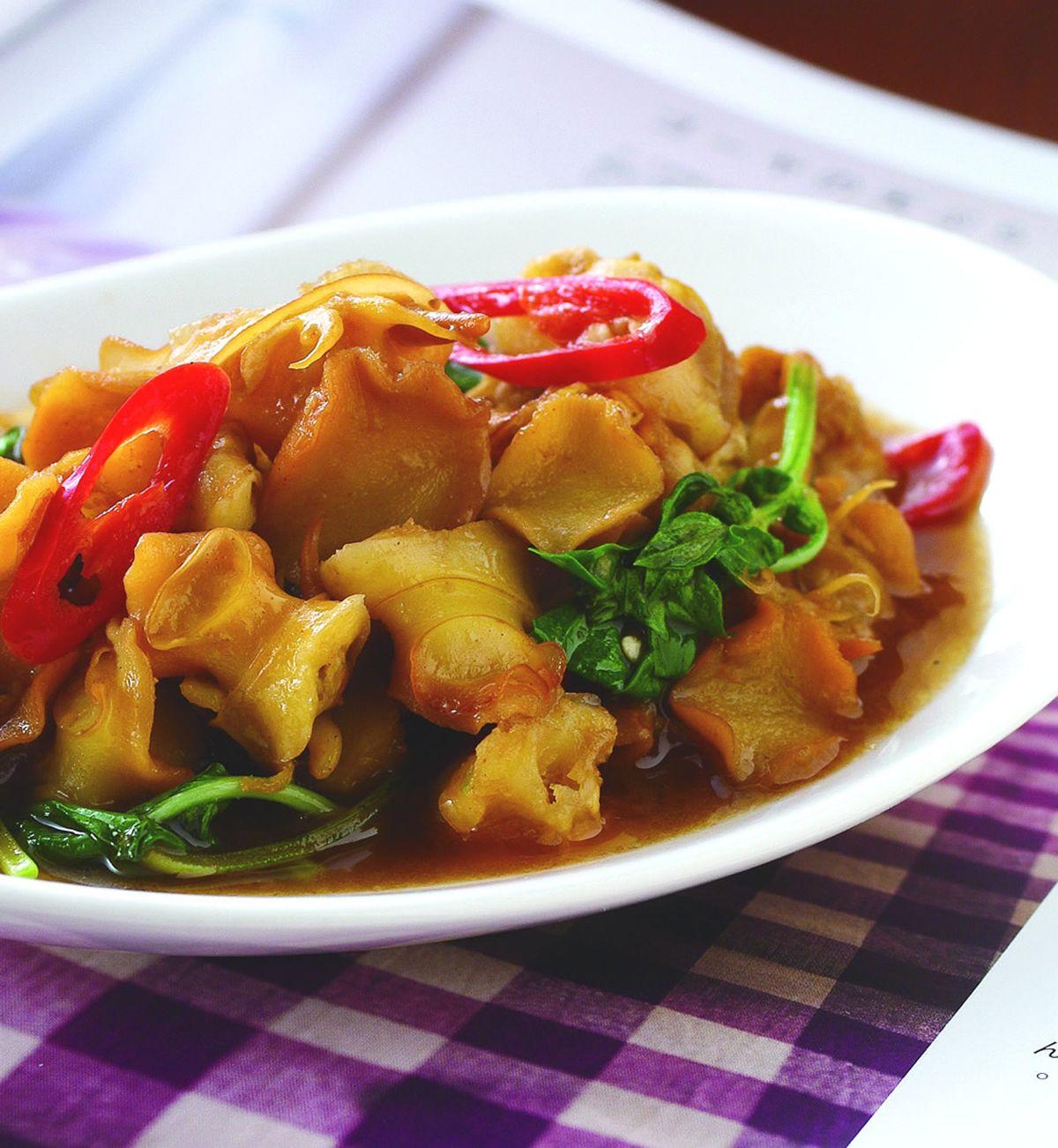 食譜:塔香螺肉(2)