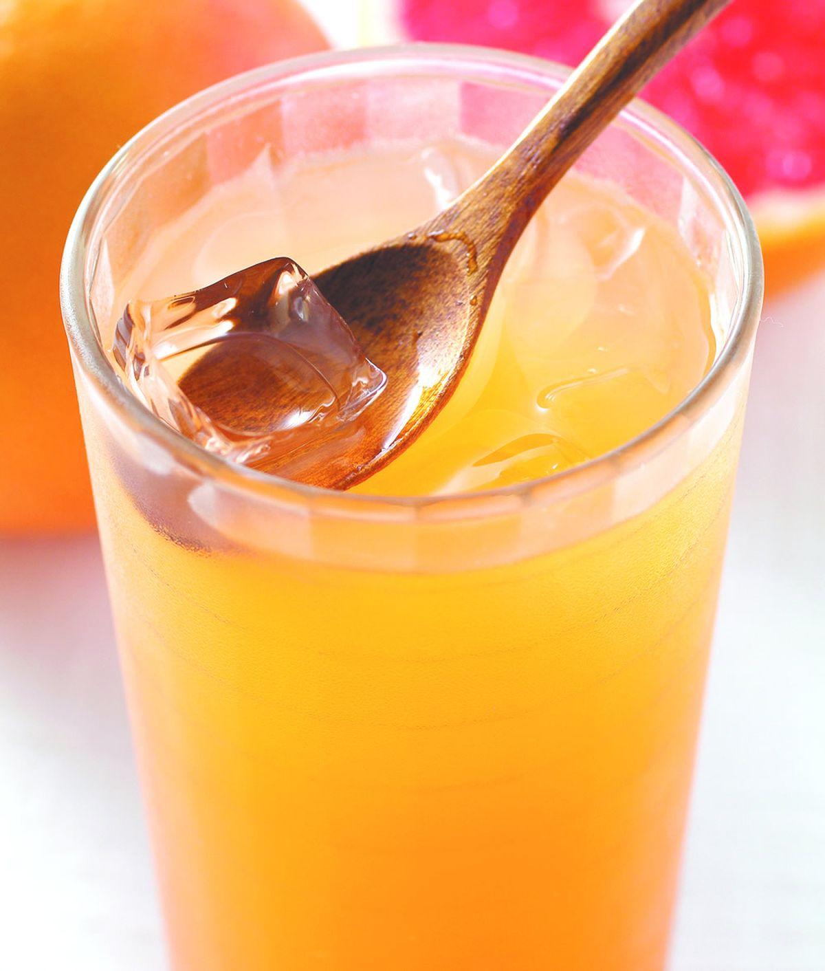 食譜:青柚香茶