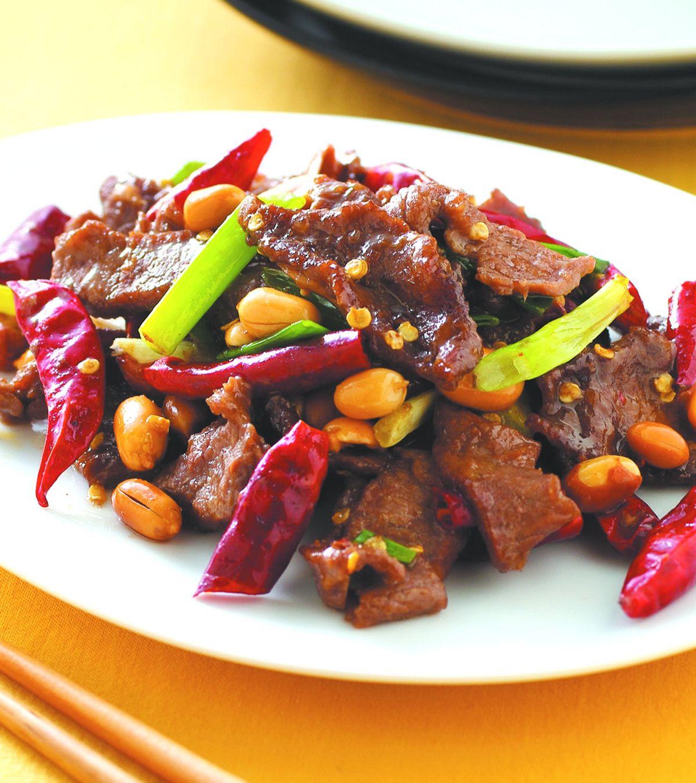 食譜:宮保牛肉(4)