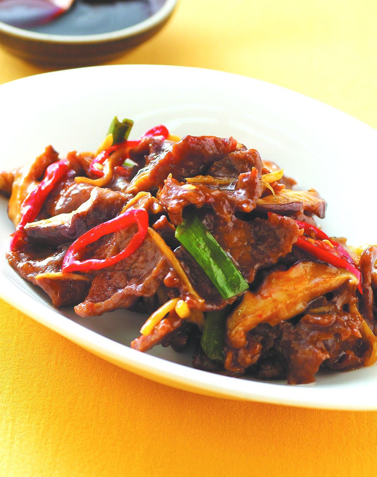 食譜:蠔油牛肉(8)
