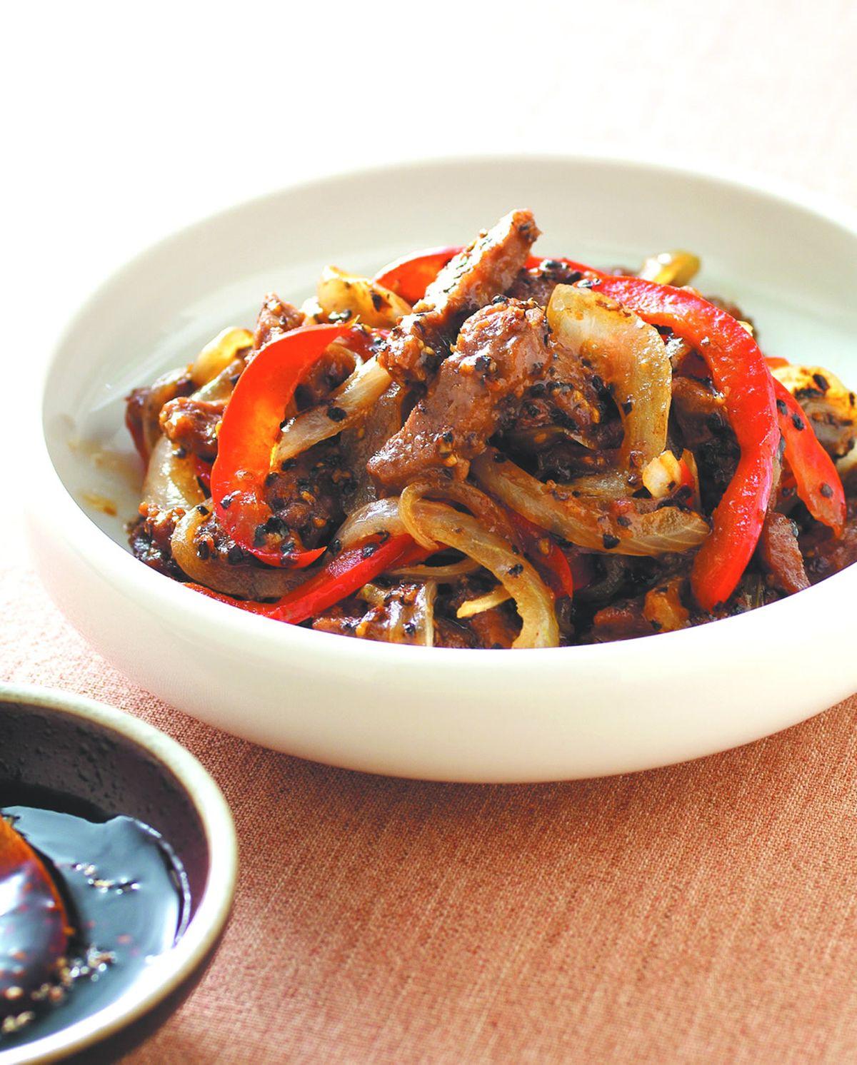 食譜:黑椒牛柳(3)