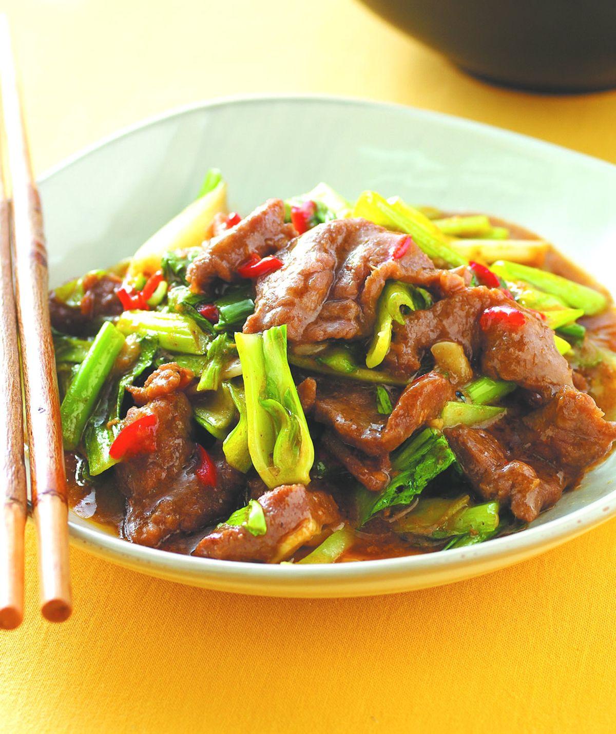 食譜:沙茶牛肉(6)