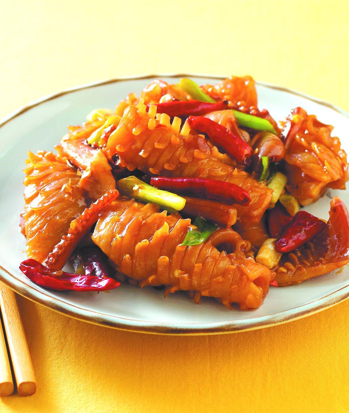 食譜:宮保魷魚(6)