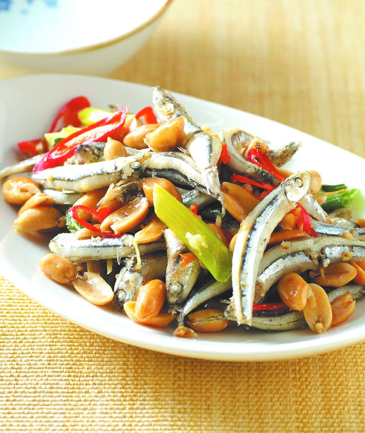 食譜:花生炒丁香(1)