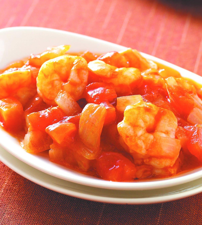 食譜:茄汁蝦球