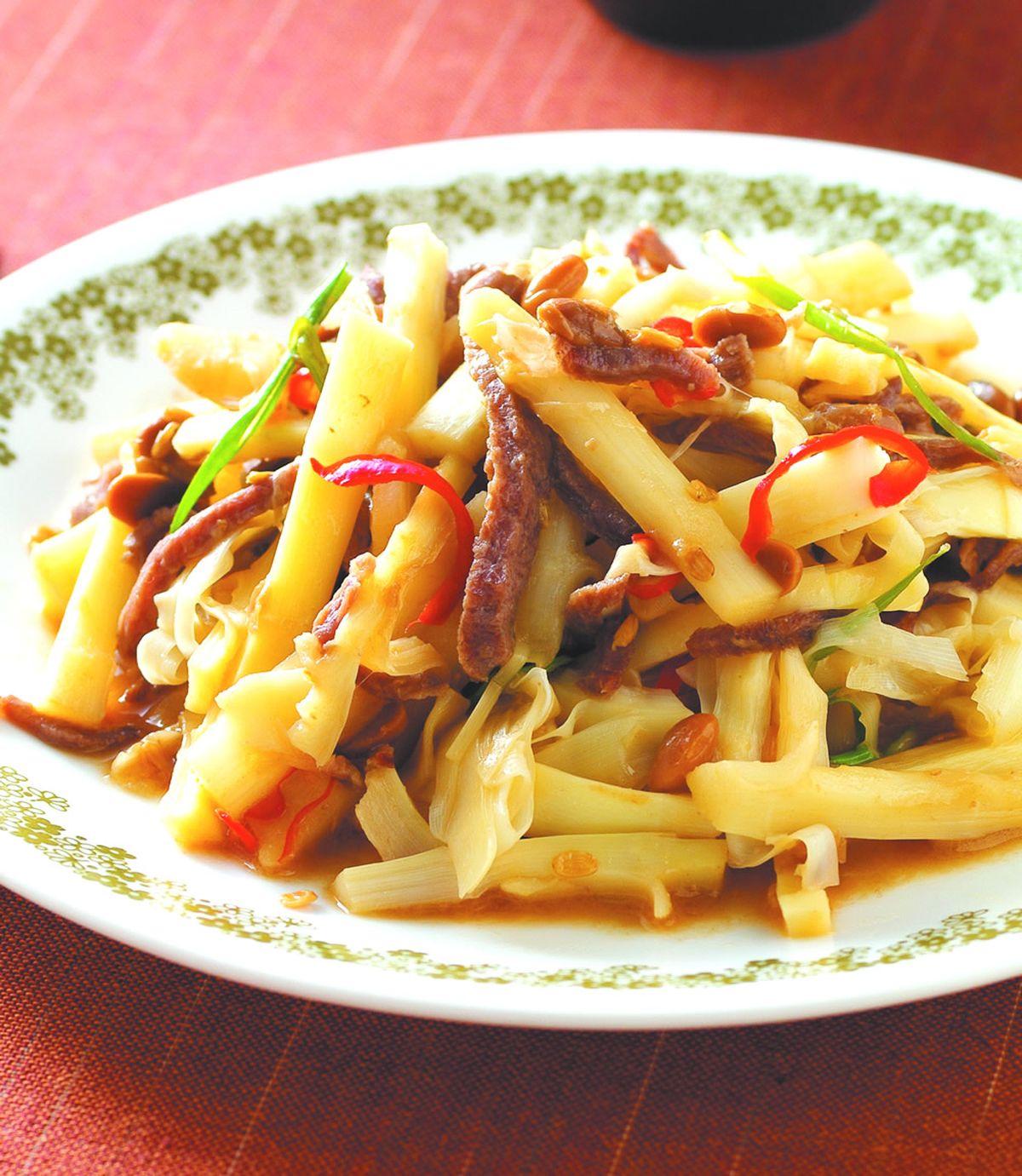 食譜:豆醬桂竹筍