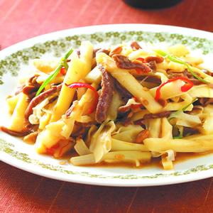 豆醬桂竹筍