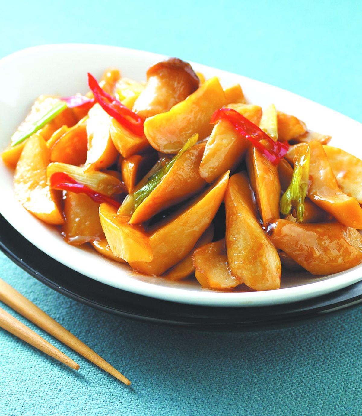 食譜:蠔油杏鮑菇