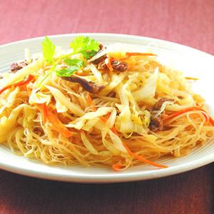 肉絲炒米粉(2)
