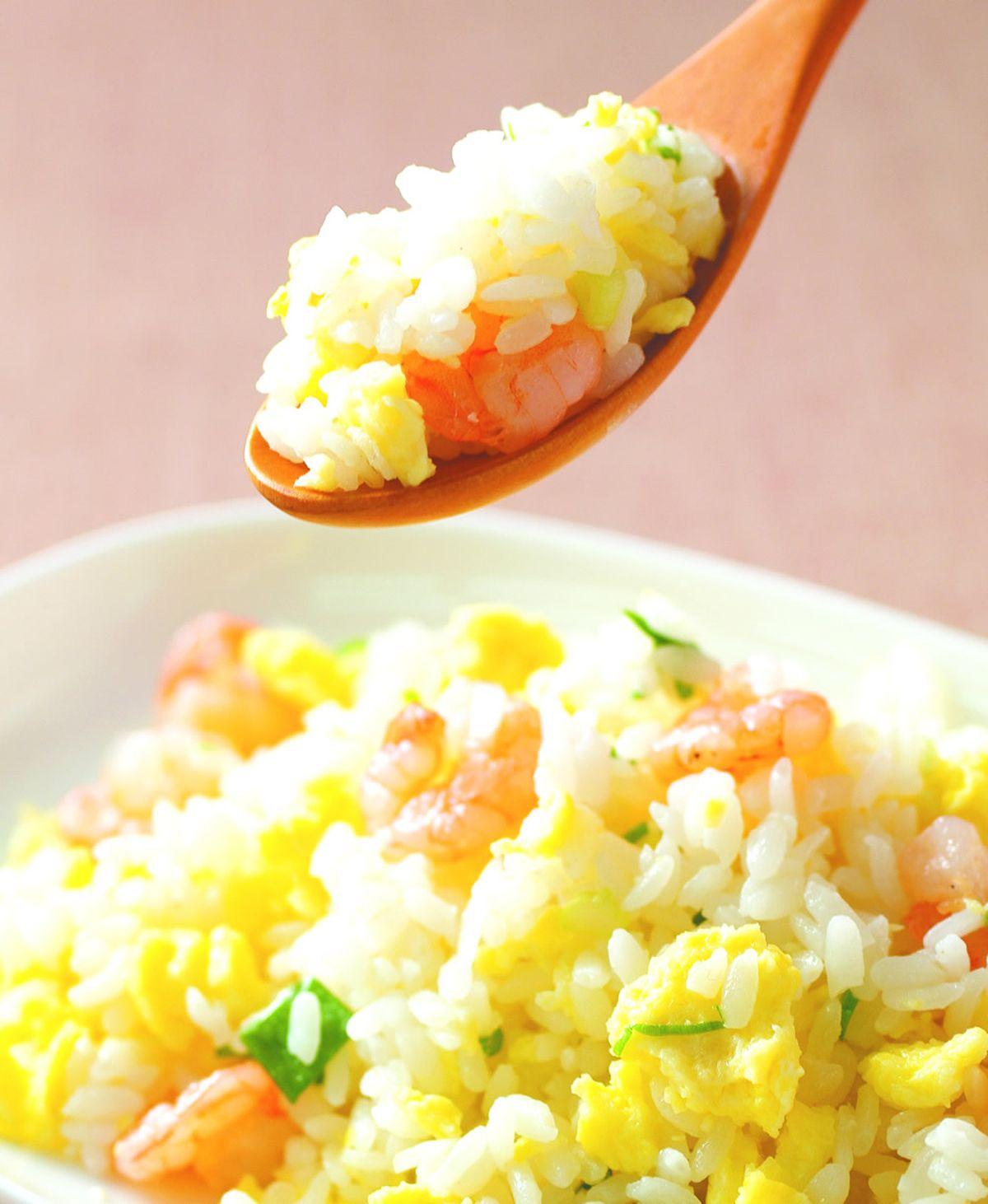 食譜:蝦仁蛋炒飯(1)