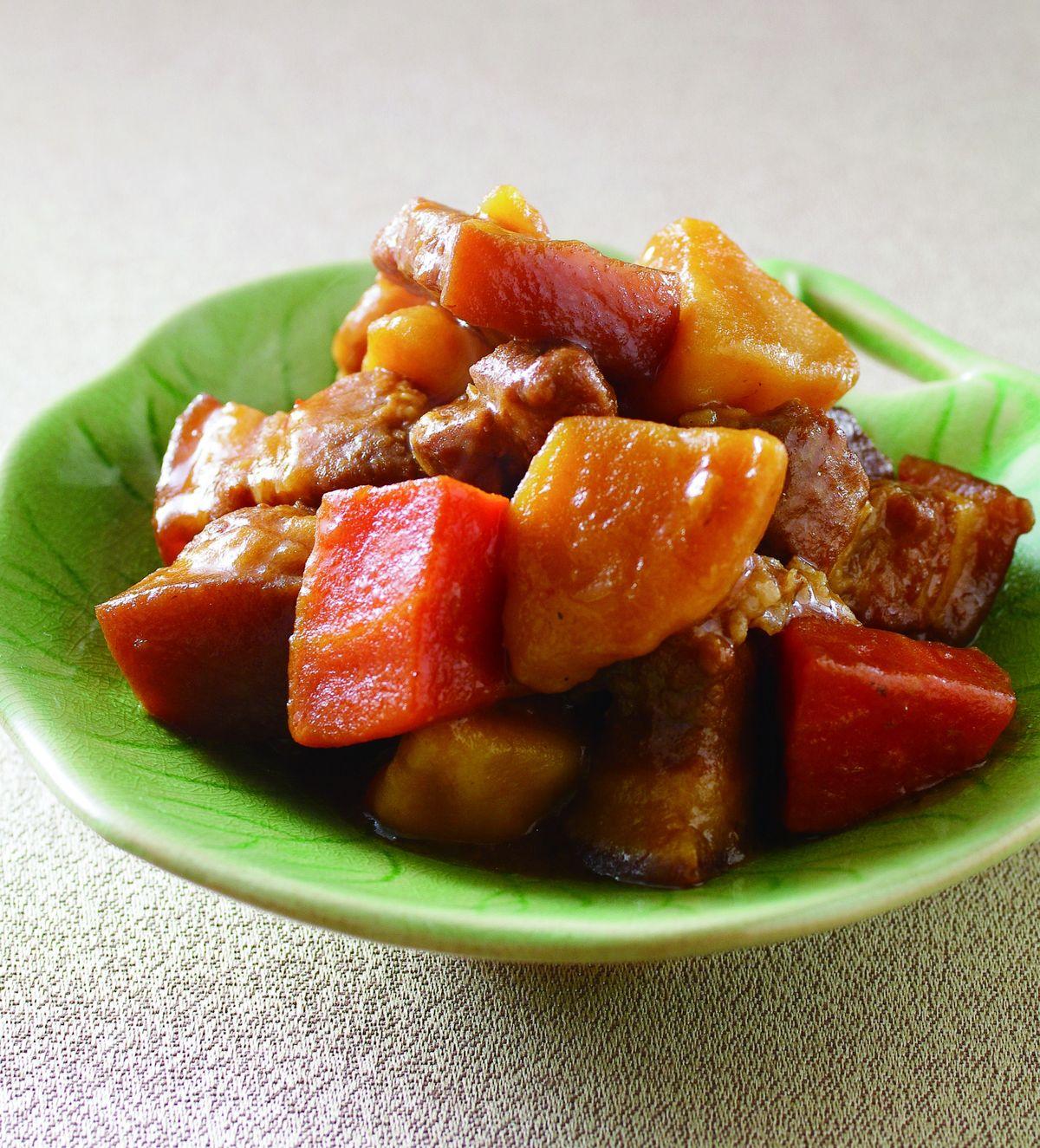 食譜:馬鈴薯燒肉(1)