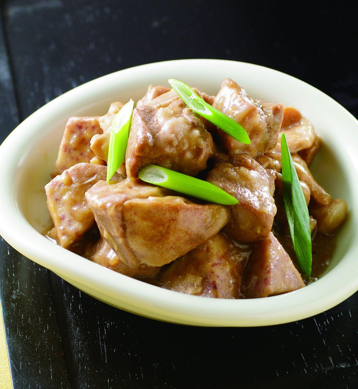 食譜:芋頭燒肉(2)