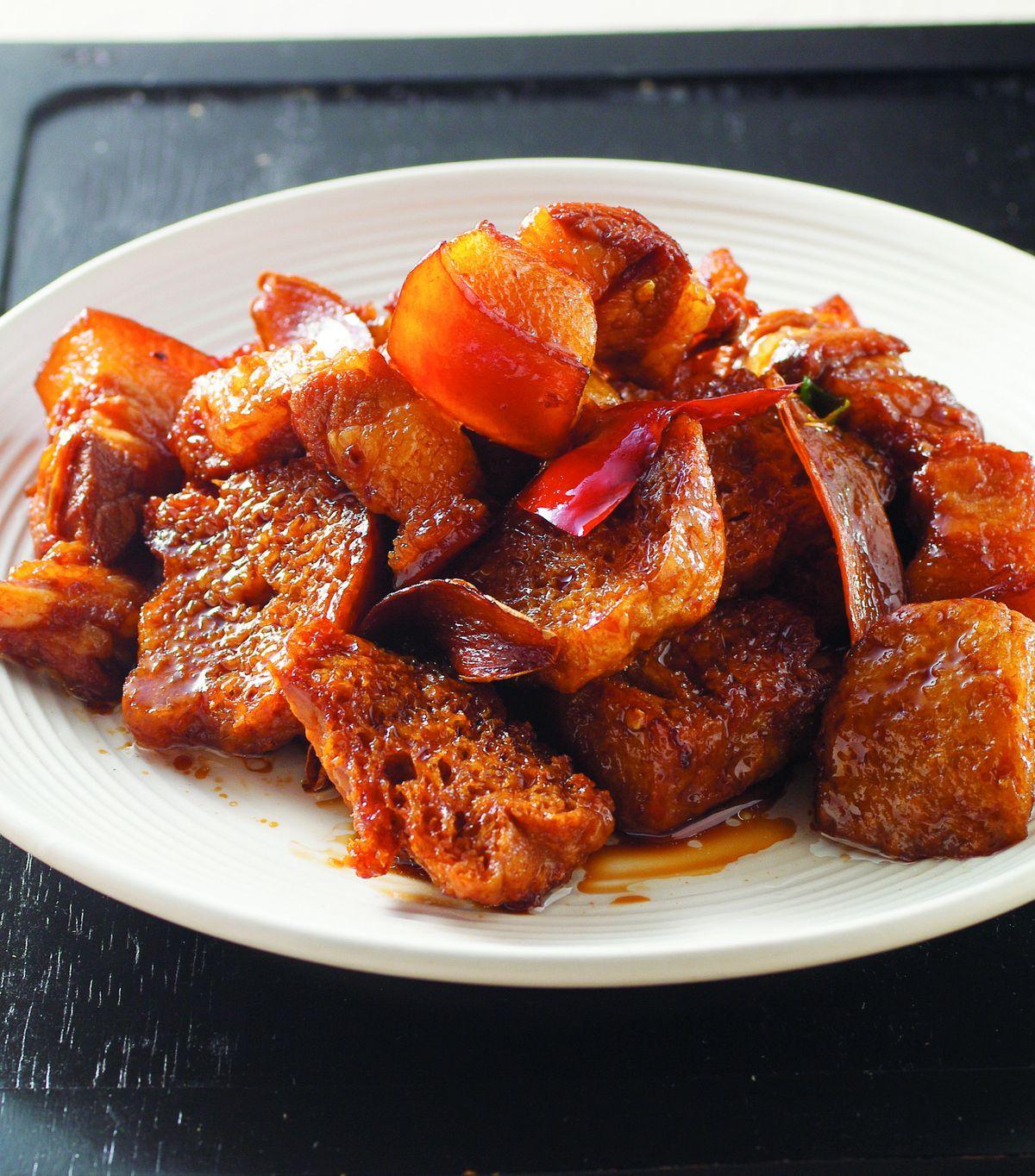 食譜:烤麩燒肉