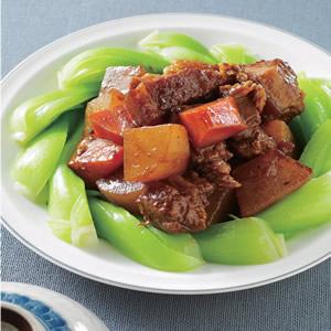 蘿蔔燒肉(3)