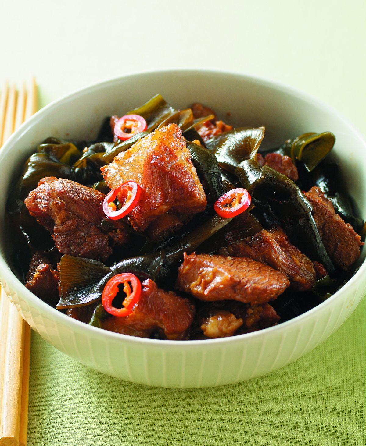 食譜:海帶燒肉(1)
