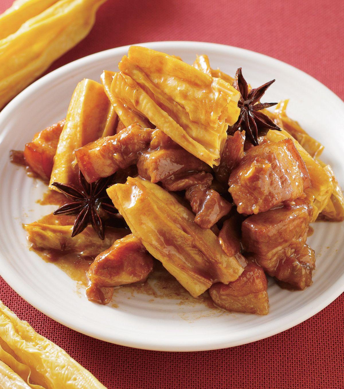 食譜:腐竹燒肉(1)