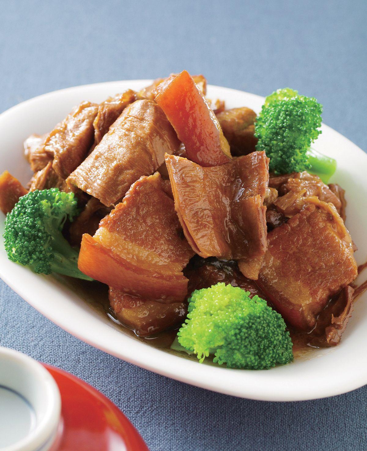 食譜:扁尖筍燒肉