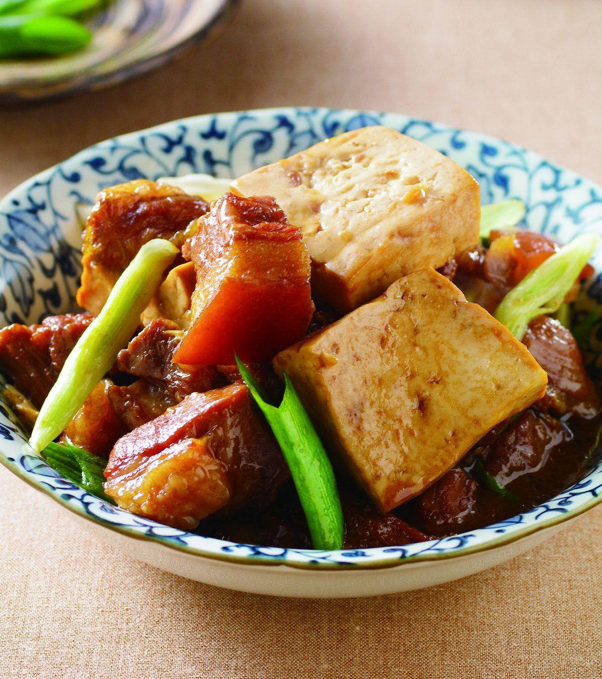 食譜:豆腐燒肉