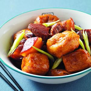 油豆腐燒肉(2)