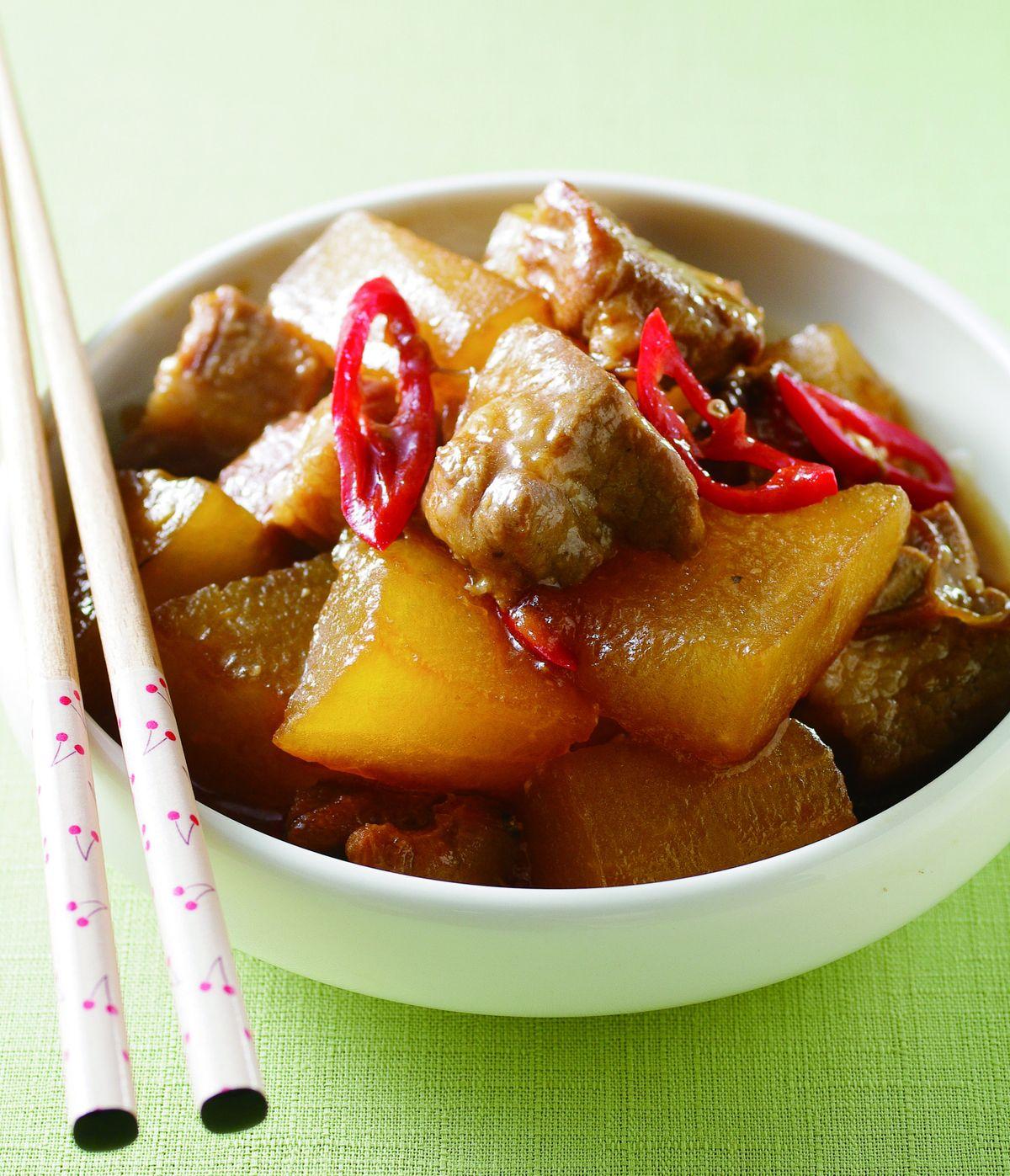食譜:冬瓜燒肉