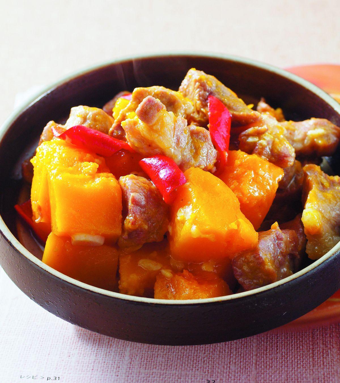食譜:南瓜燒肉