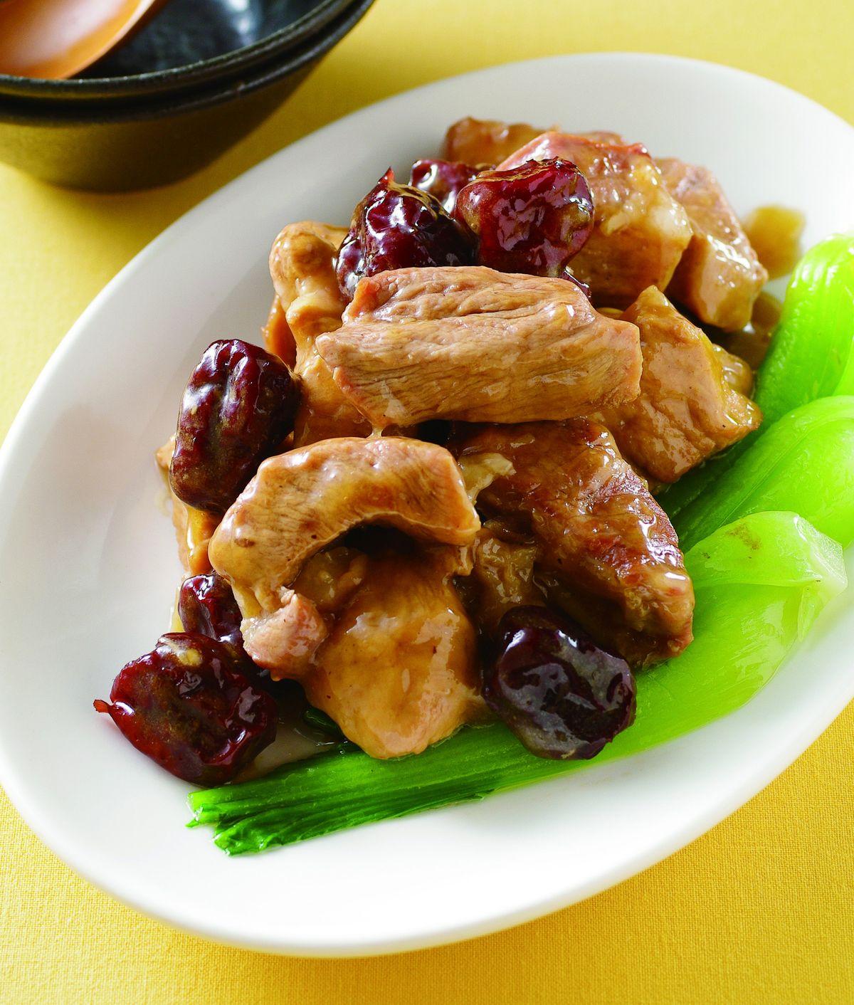 食譜:紅棗燒肉