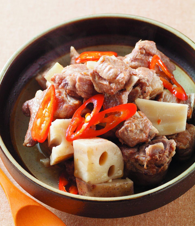 食譜:蓮藕燒肉