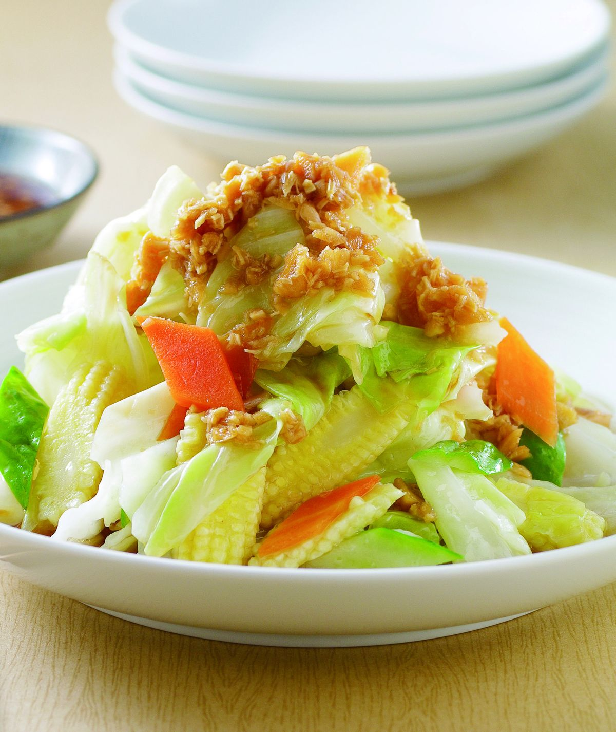 食譜:蒜蓉高麗菜