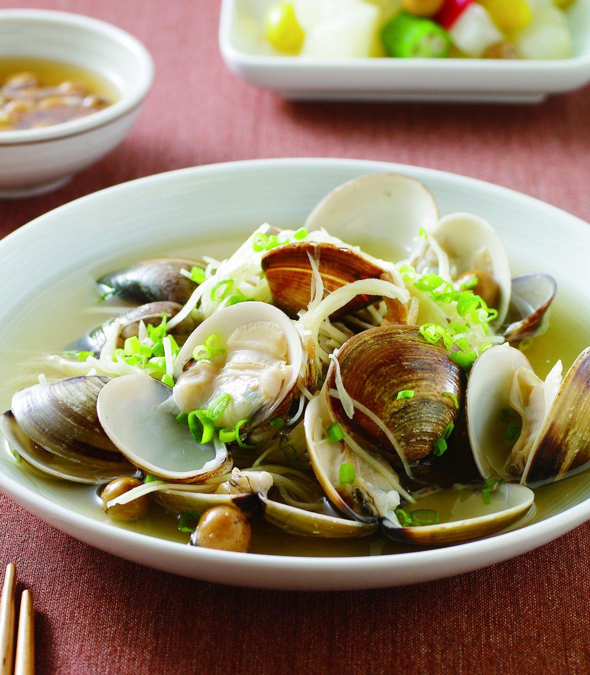 食譜:破布子蛤蜊