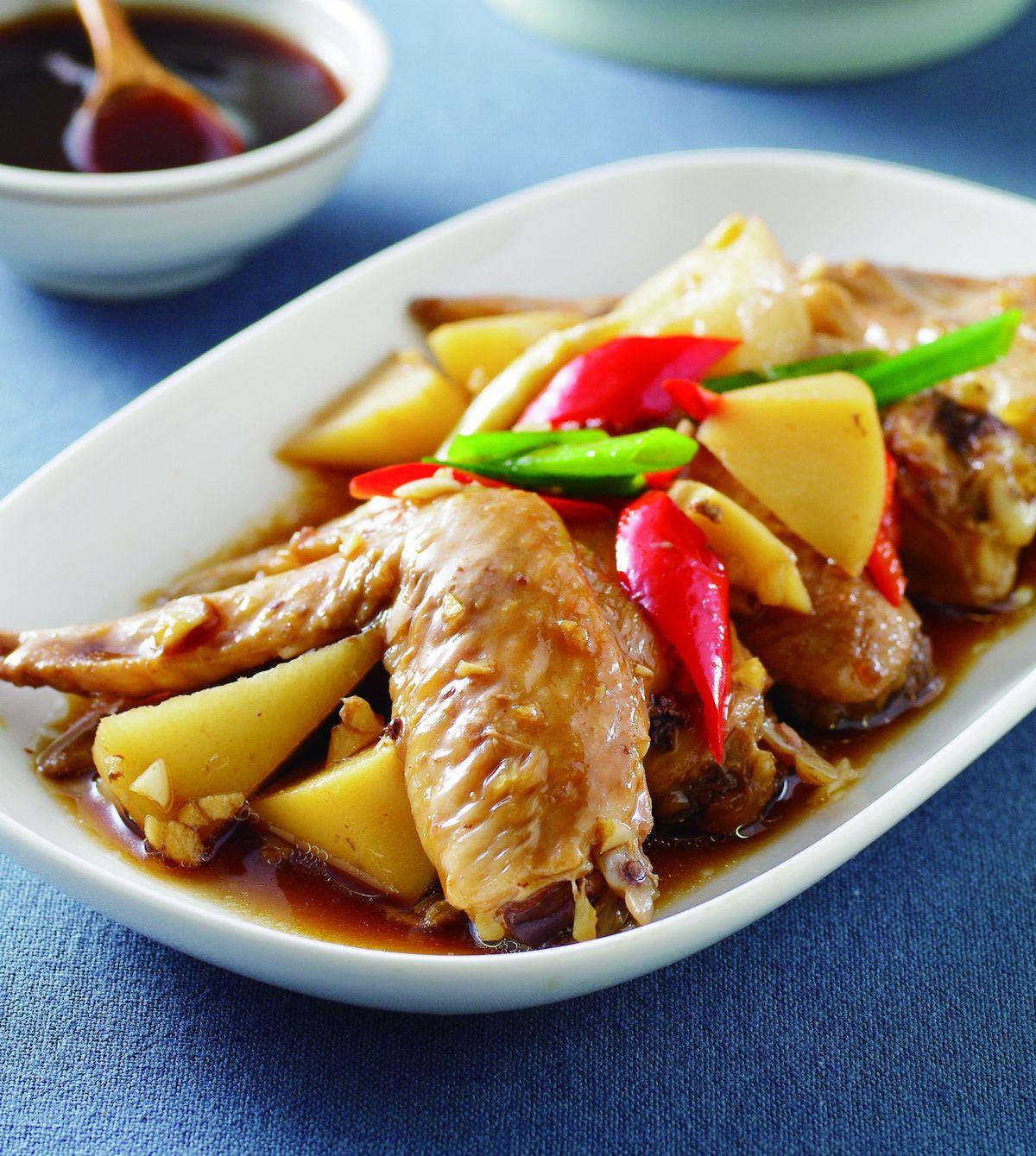 食譜:蠔油雞翅(1)