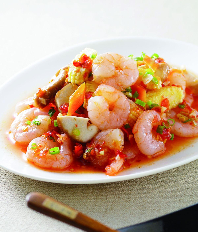 食譜:魚香蝦仁